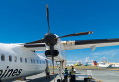 Propeller jet Royalty Free Stock Photo