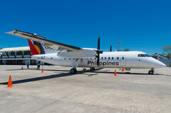 Propeller jet Royalty Free Stock Photos