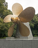 Propeller in Kotohira - Japan royalty free stock photos