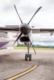 An propeller from an plaina Stock Photography