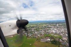 An propeller from an plaina Stock Photo