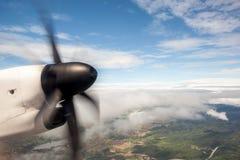 An propeller from an plaina Royalty Free Stock Photos