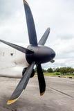 An propeller from an plaina Stock Image