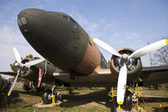 Propeller plane Stock Image