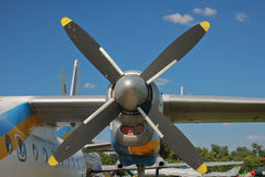Propeller plane Royalty Free Stock Photography