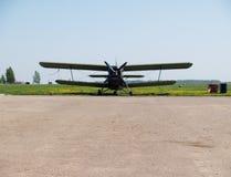 Propeller plane Royalty Free Stock Image