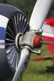 Propeller of a plane Stock Photos