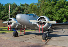 Propeller plane Royalty Free Stock Images