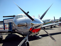 Propeller plane Stock Images