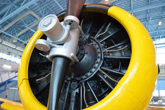 The propeller of plane Royalty Free Stock Image