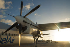Propeller plane Stock Photos