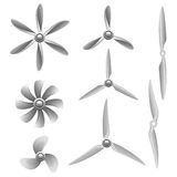 Propeller set Royalty Free Stock Photo