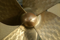 Propeller of a ship Stock Images
