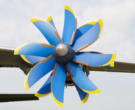 Propeller turboprop aircraft Royalty Free Stock Photos