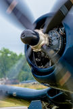 Propeller of a Vintage Plane Royalty Free Stock Images