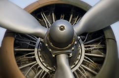 Propellermotor Royaltyfri Bild