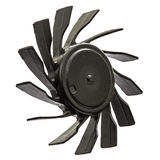 Propellers of  fan, isolated on white background Stock Images