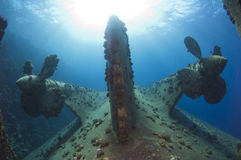 Free Propellers On A Shipwreck Stock Images - 26818134