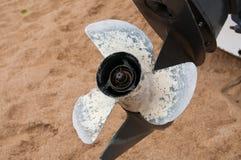 propellerskruv Royaltyfri Bild