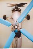 Propellervliegtuig, Kleur Royalty-vrije Stock Fotografie