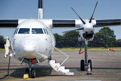 Propellor aircraft Stock Photography