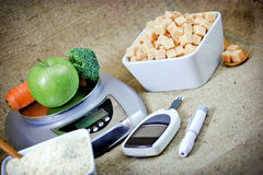 Proper nutrition - nutritional care Stock Image