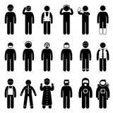 Proper Safety Attire Uniform Wear Pictogram Royalty Free Stock Photo