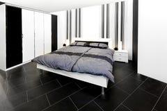 Propere slaapkamer Royalty-vrije Stock Foto's