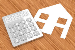 Properties calculation Stock Photo