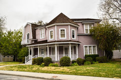 Properties on Colonial Street Stock Photography