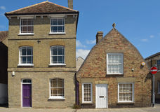 Properties in the market town of St Ives Cambridgeshire. Stock Photography