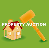 Property Auction Stock Image