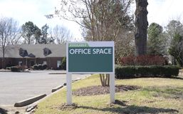 Office Space Available Stock Images