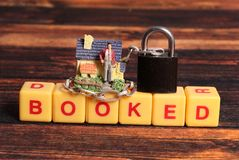 Property booking. Concept shot of property booking royalty free stock images