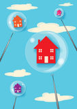 Property Bubble Royalty Free Stock Image