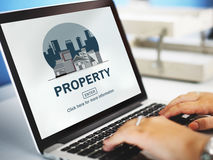 Property Business Financial Estate Investment Concept Royalty Free Stock Image