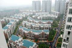 Property in Chengdu,China. Lots of new modern housings are built in cities of China royalty free stock image