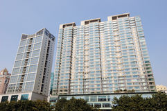 Property in Chengdu,China. Lots of new modern housings are built in cities of China stock photography
