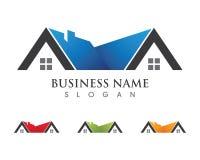 Property and Construction Logo design. Real Estate , Property and Construction Logo design for business corporate sign . Vector Logo Royalty Free Stock Photos