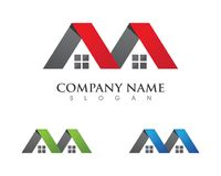 Property and Construction Logo Stock Photography