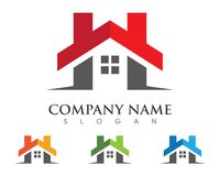 Property and Construction Logo Royalty Free Stock Photos