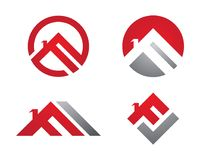 Property and Construction Logo Royalty Free Stock Images