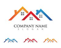 Property and Construction Logo. Real Estate , Property and Construction Logo design Royalty Free Stock Images
