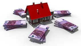Property costs Stock Images