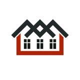 Property developer stylish icon, estate agency corporate symbol. Stock Photo