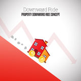Property Downward Ride Royalty Free Stock Photo