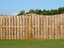 Property Fence Stock Image