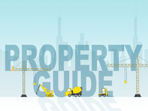 Property Guide Indicates Real Estate And House Royalty Free Stock Image