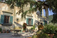 Property, Home, Courtyard, House stock images