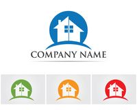 Property house and home logos template vector,. Property house and home logos template vector Stock Image